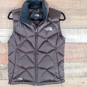 The North Face   Brown 550 Vest